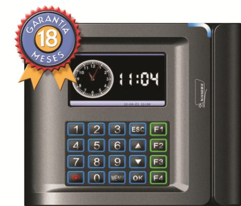 Reloj checador de huella digital  US10C-B